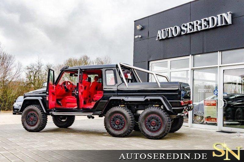 Mercedes Benz G 63 Amg 6x6 Gebraucht Kaufen In Hechingen