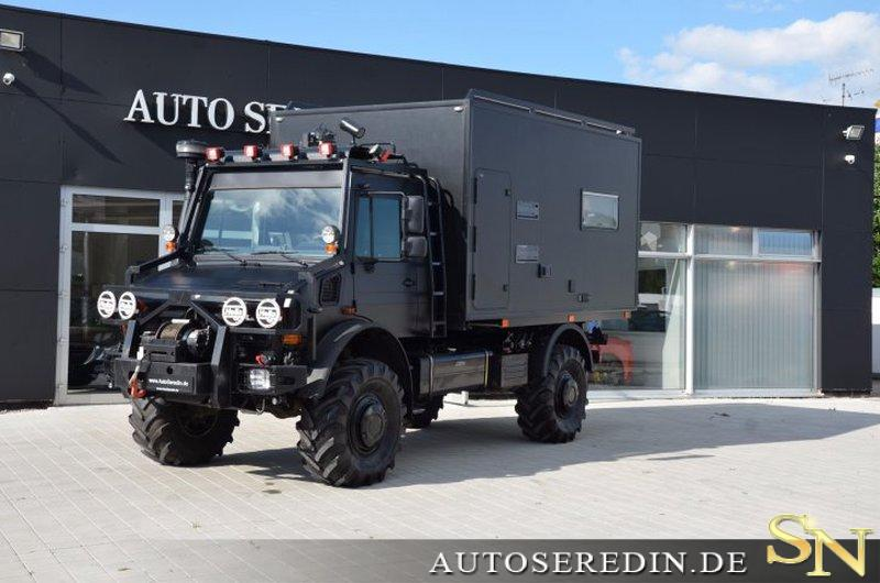 mercedes benz unimog u5000 4x4 special hunter paket. Black Bedroom Furniture Sets. Home Design Ideas